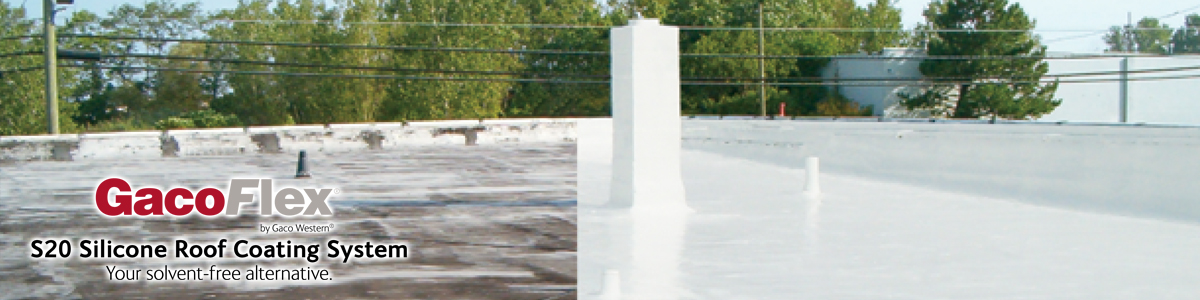 GacoFlex S20 Silcone Roof Coating