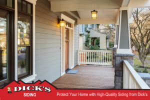Home's Quality Siding | Dick's Roofing