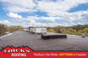 Roofing in the Winter | Dick's Roofing