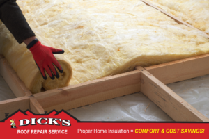 Insulation | Dick's Roofing
