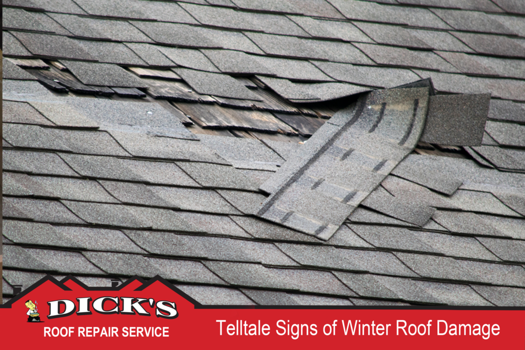 Telltale Signs Of Winter Roof Damage Dick S Roof Repair