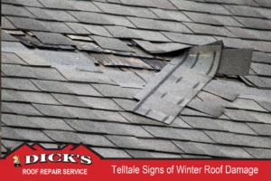 Telltale Signs of Winter Roof Damage