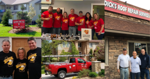 Helping the Community | Dicks Roof Repair