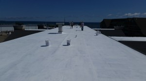 Polyglass work by Dick's Roof Repair