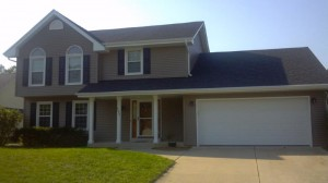 Examples of siding/roofing work by Dick's Roof Repair.
